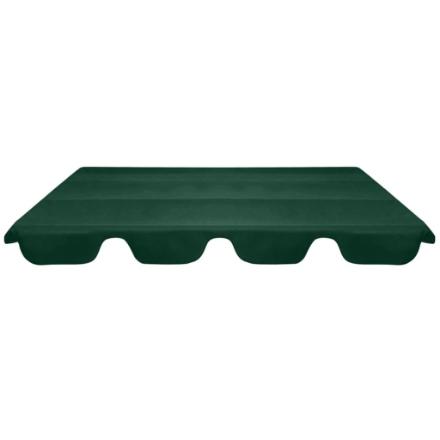 Baldacchino di Ricambio per Dondolo da Giardino Verde 226x186cm