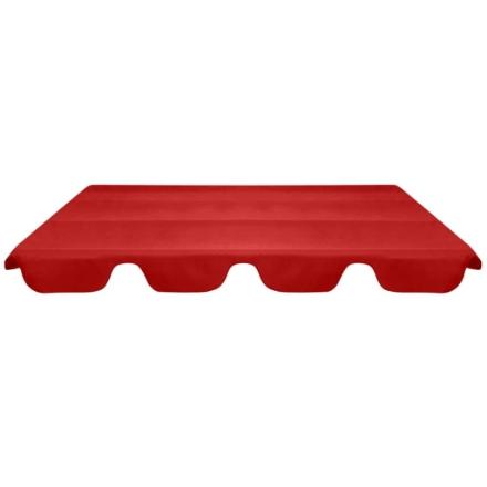 Baldacchino di Ricambio per Dondolo da Giardino Rosso 226x186cm