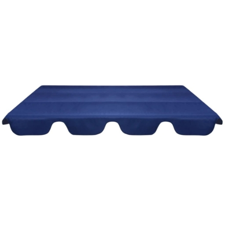 Baldacchino di Ricambio per Dondolo da Giardino Blu 226x186 cm