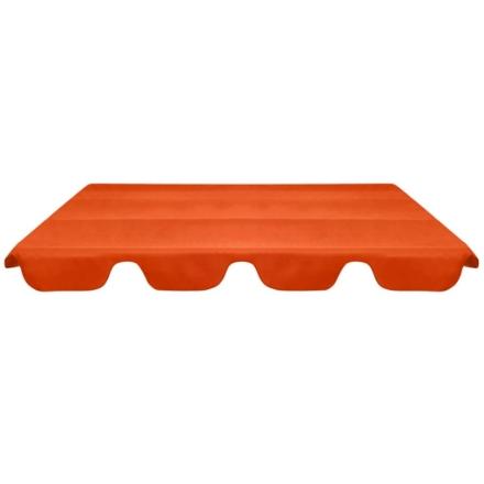 Baldacchino di Ricambio Dondolo da Giardino Arancione 226x186cm