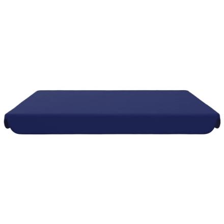 Baldacchino di Ricambio per Dondolo Giardino Blu 192x147 cm