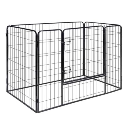Box per cani &animali domestici gabbia canile 4 pannelli