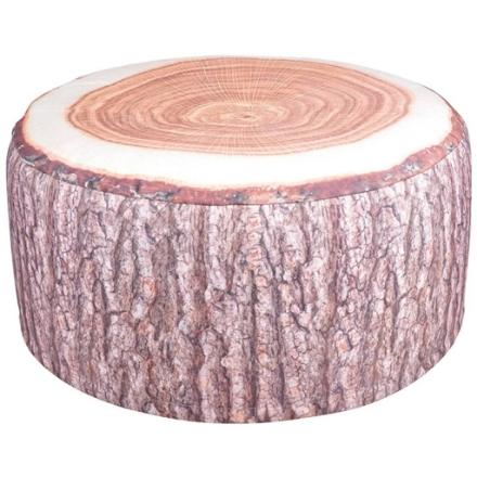 Esschert Design BK014 Sgabello gonfiabile da esterno tronco d'albero