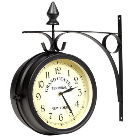 Orologio a Parete a Doppia Faccia 20 cm