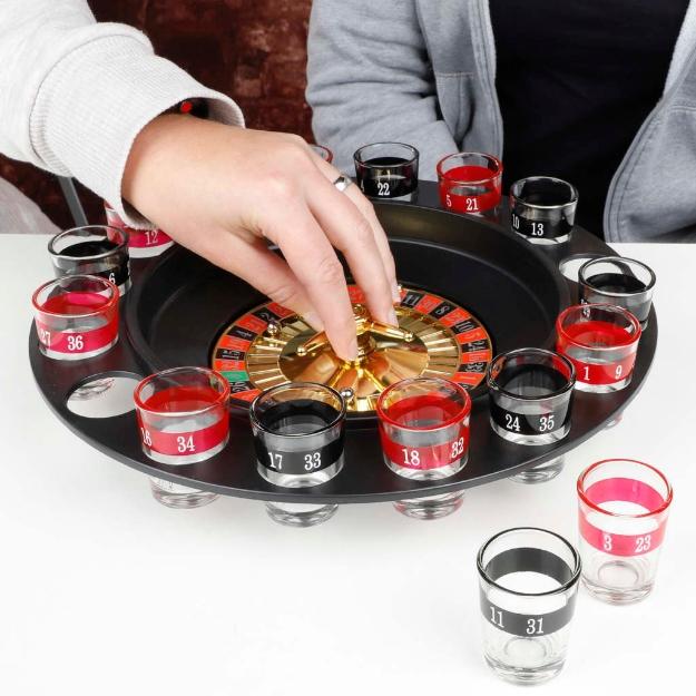 HI Roulette con Bicchieri Nera
