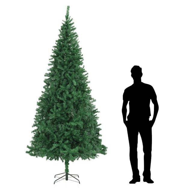 Albero di Natale Artificiale 300 cm Verde