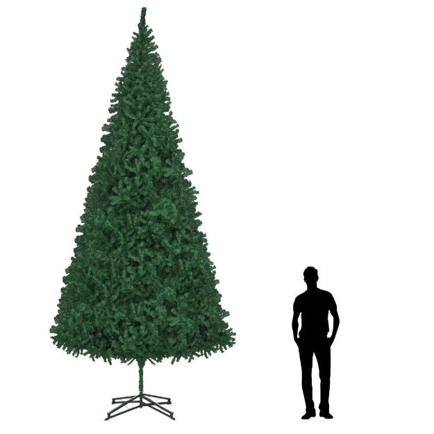 Albero di Natale Artificiale 500 cm Verde