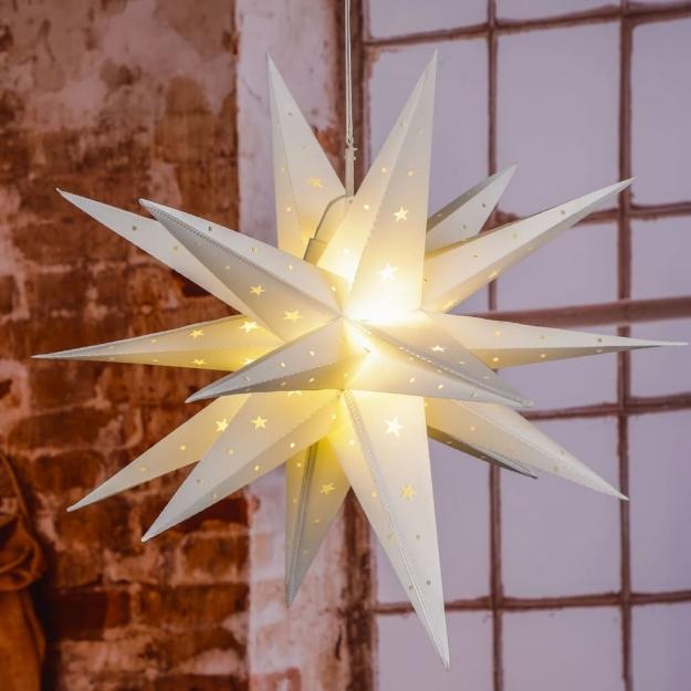 HI Luce di Natale Stella a LED 58 cm